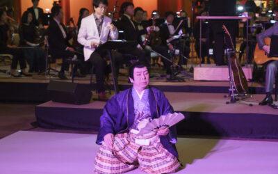 増上寺にて創作舞踊「忠臣蔵」に出演いたしました。